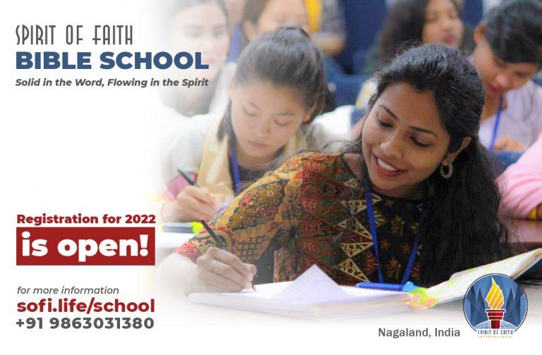 Spirit of Faith Bible School ad